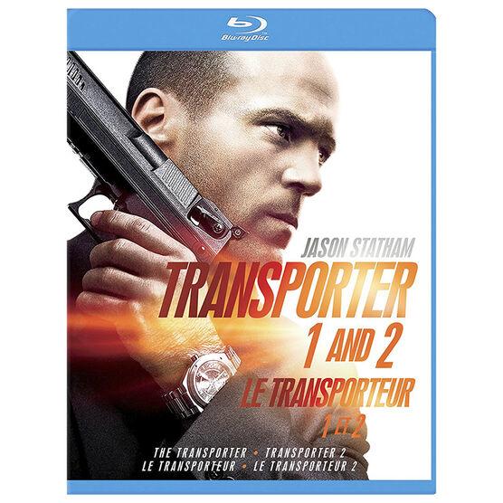 Transporter 1 And Transporter 2 - Blu-ray