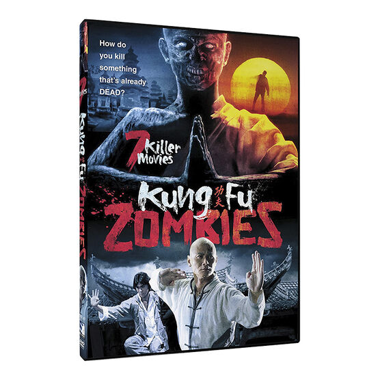 Kung Fu Zombies: 7 Killer Movies - DVD