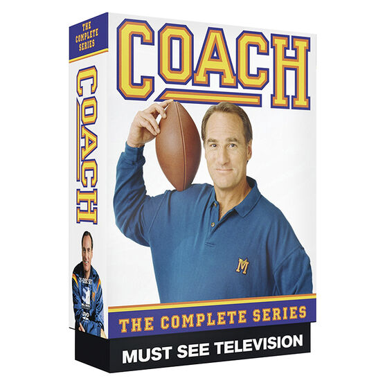 Coach: The Complete Series - DVD