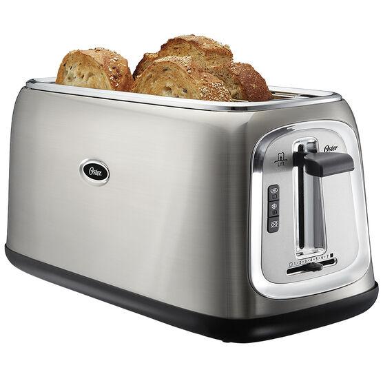 Oster 4 Slice Long-Slot Toaster - Stainless Steel - TSSTTRJB30-033