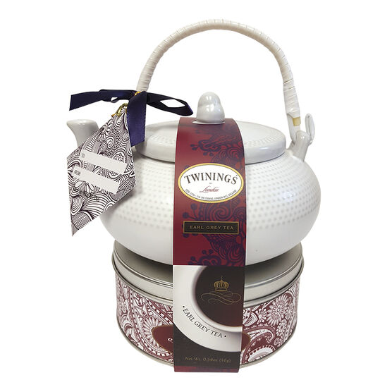 Sweet Expressions Twinings Teapot & Tin - Assorted