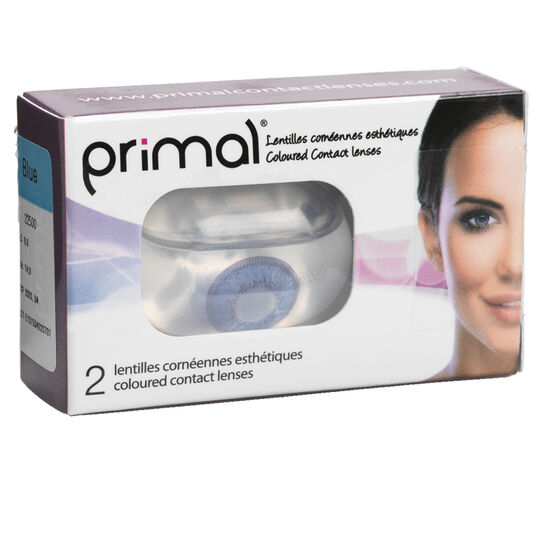 Primal Coloured Contact Lenses - Moonlight Azure