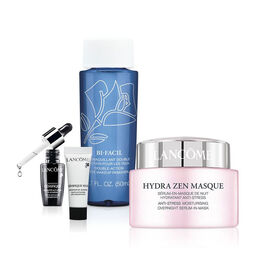 Lancome Hydrazen Night Moisturizing Cream Set - 4 piece