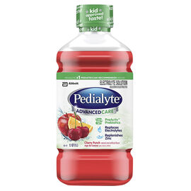 Pedialyte AdvancedCare - 1 L - Cherry Punch
