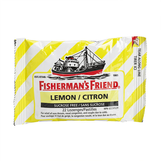 Fisherman's Friend - Sugar Free Lemon - 22's