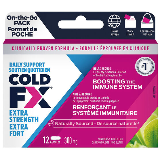 Cold-FX 300mg Extra Strength - 12's