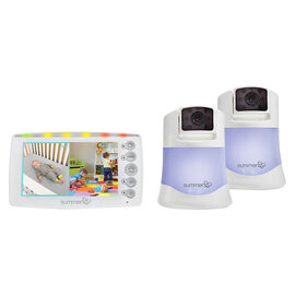Summer Infant Side By Side Split-Screen Video Monitor Set 2.0 - 29623
