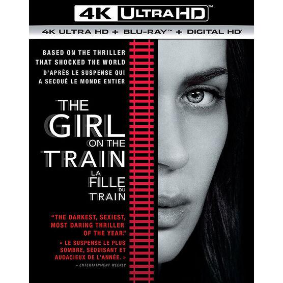 The Girl On The Train - 4K UHD Blu-ray