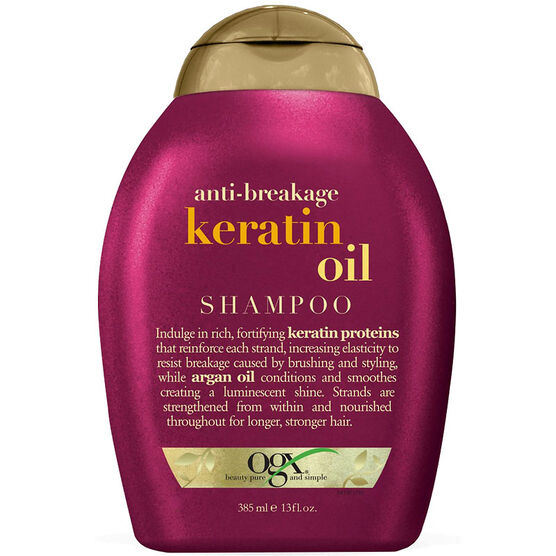 OGX Anti-Breakage Shampoo with Keratin Oil - 385ml