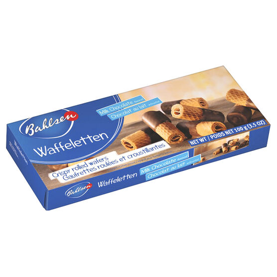 Bahlsen Wafer Rolls - Milk Chocolate - 100g