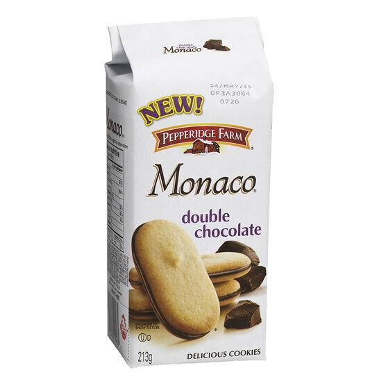 Pepperidge Farm Monaco Dark Chocolate Cookies - 213g