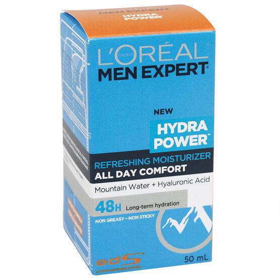 L'Oreal Men Expert Hydra Power Refreshing Moisturizer - 50ml