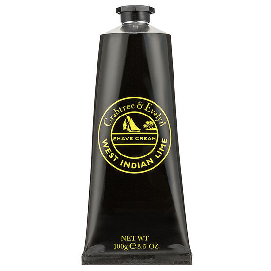 Crabtree & Evelyn West Indian Lime Shave Cream - 100g