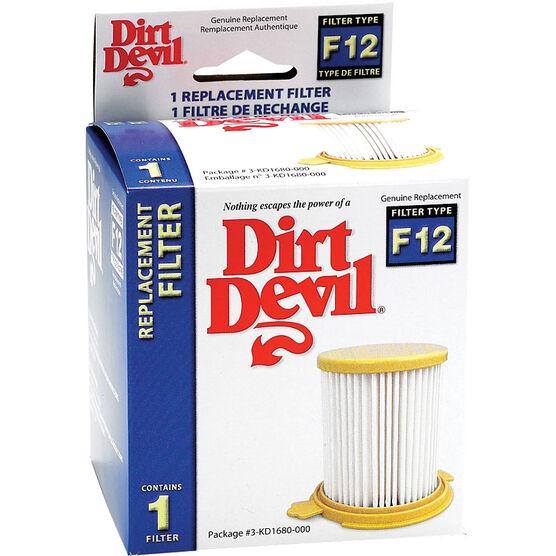 Dirt Devil Filter F12 -  3KD1680000