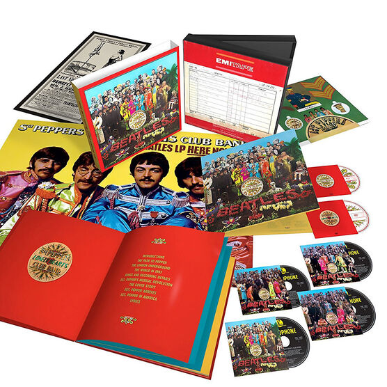 The Beatles - Sgt. Pepper's Lonely Hearts Club Band (Anniversary Edition) - 4 CD + Blu-ray + DVD Box Set