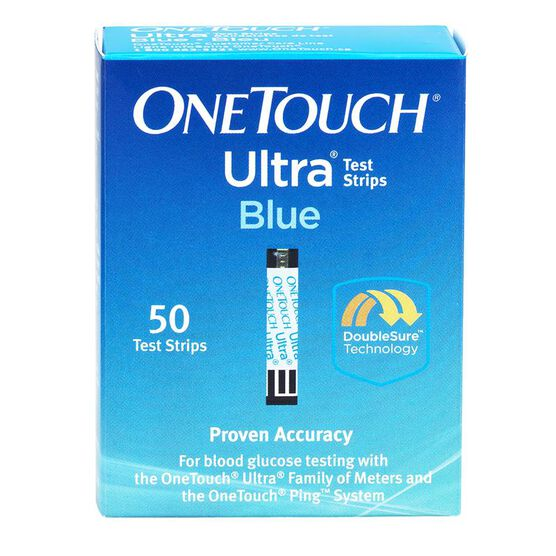 LifeScan One Touch Ultra Test Strips - 50's