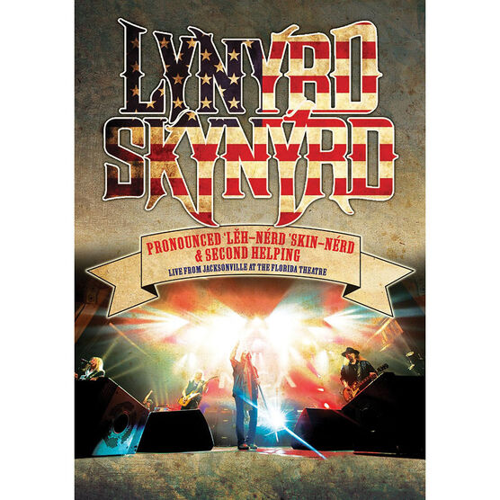 Lynyrd Skynyrd - Pronounced Leh-Nerd Skin-Nerd & Second Helping: Live from Jacksonville - DVD