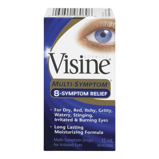 Visine Multi-Symptom Relief - 15ml