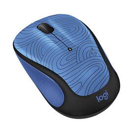 Logitech M325c Doodle Collection Wireless Mouse -Deep Blue Bot - 910-005030