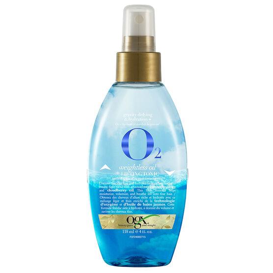 OGX O2 Weightless Oil+Lifting Tonic - 118ml