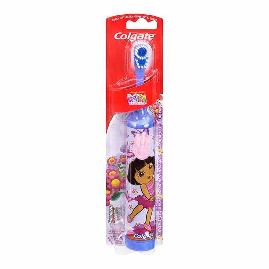Colgate Dora the Explorer Battery-Powered Toothbrush - Extra Soft