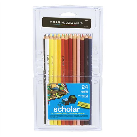 Prismacolor Colouring Pencils - Scholar - 24's