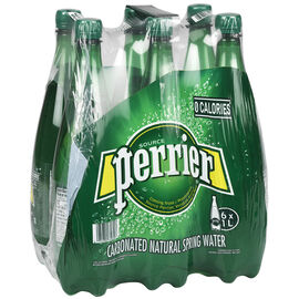 Perrier Sparkling Water Case - 6 x 1L