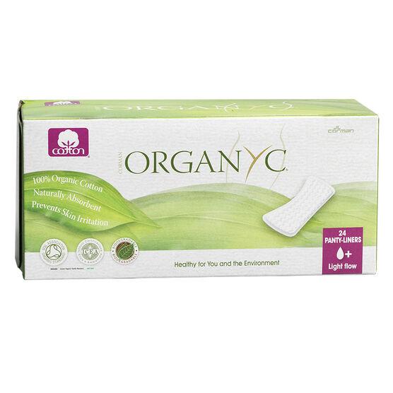 Organyc Panty-Liners - Light - 24's