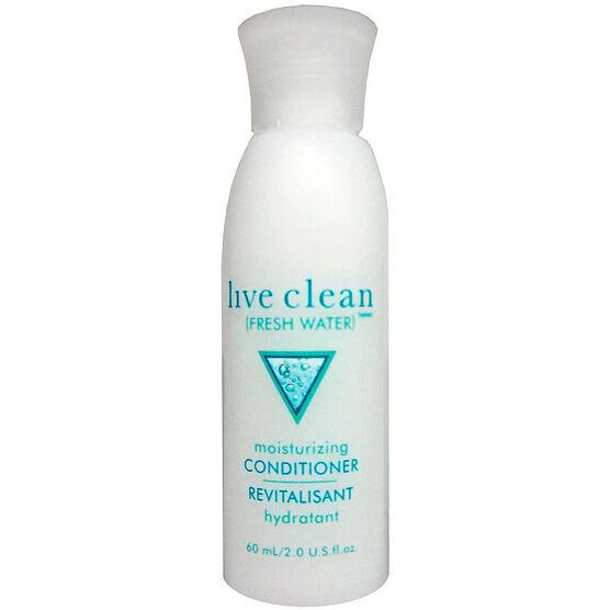 Live Clean Fresh Water Moisturizing Conditioner - 60ml