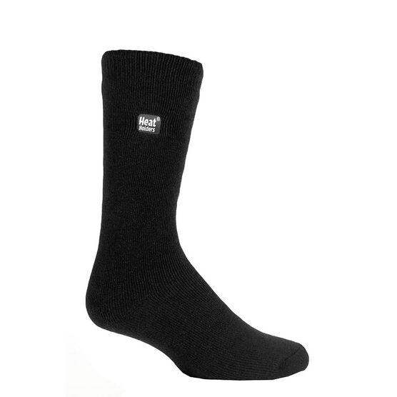 Heat Holders Men's Lite Crew Sock - Black