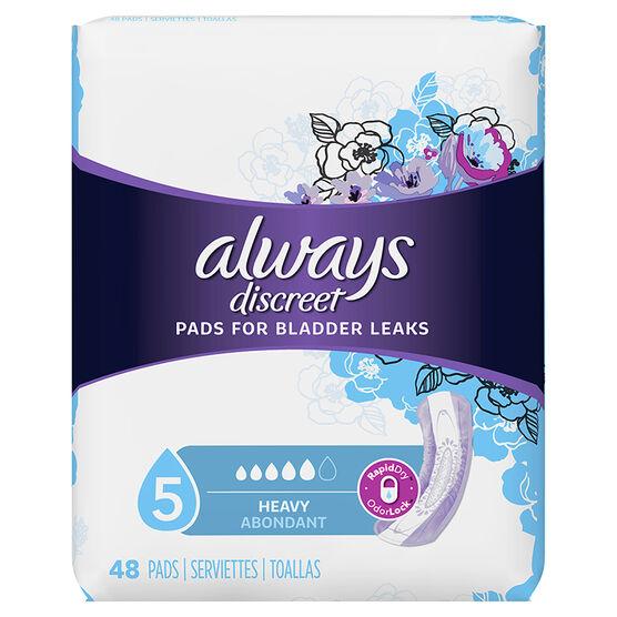 Always Discreet Pads Maximum Regular Length - 48's
