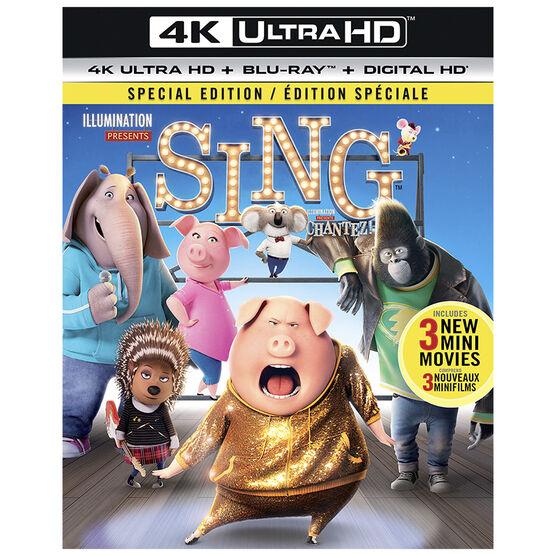 Sing - 4K UHD Blu-ray