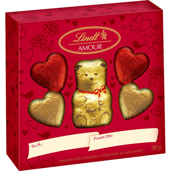 Lindt Valentine Bear Pack - 30g