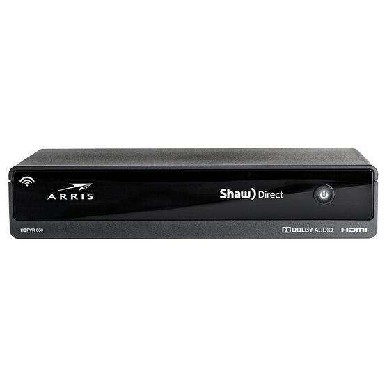 Shaw Direct HD Satellite Receiver - Black - DSR830