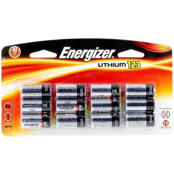 Energizer Lithium 3V Battery - 12 Pack - EL123BP12