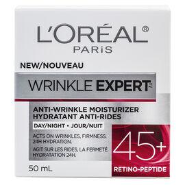 L'Oreal Wrinkle Expert Anti-Wrinkle Moisturizer - 45+ Retino-Peptede - 50ml