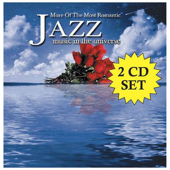 More Of The Most Romantic Jazz Music In the Universe featuring Various Artists - CD