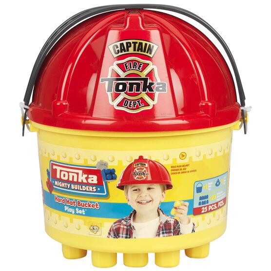 Tonka 3-in-one Bucket of Blocks - 25 piece