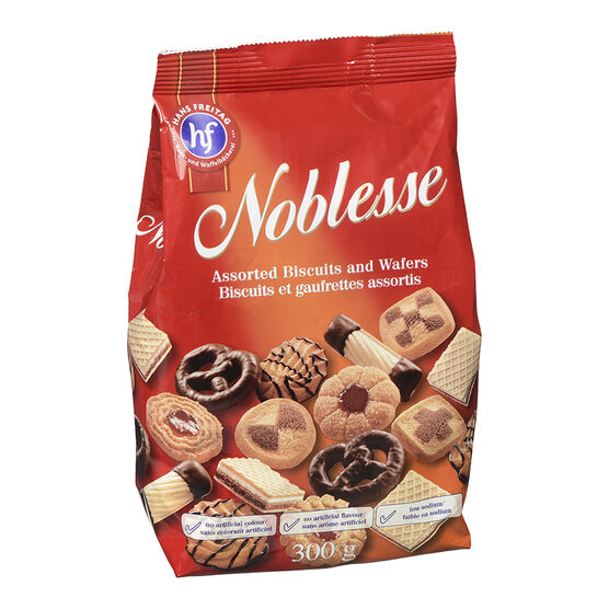 Hans Freitag Noblesse Assorted Biscuits and Wafers - 330g