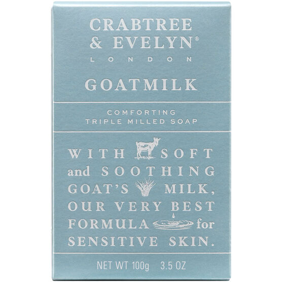 Crabtree & Evelyn Goatmilk Comforting Triple Milled Soap