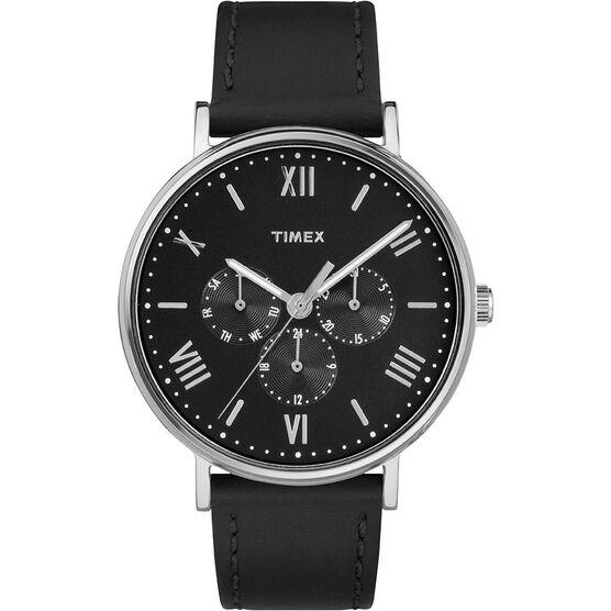 Timex Main Street Watch - Black - TW2R29000GP
