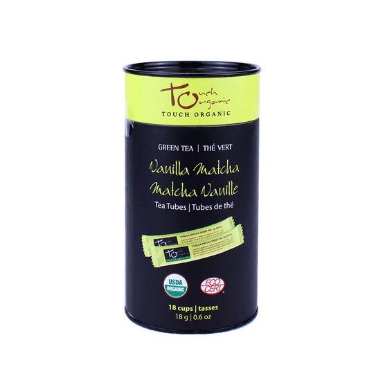Touch Organic Vanilla Matcha Tea - 18's