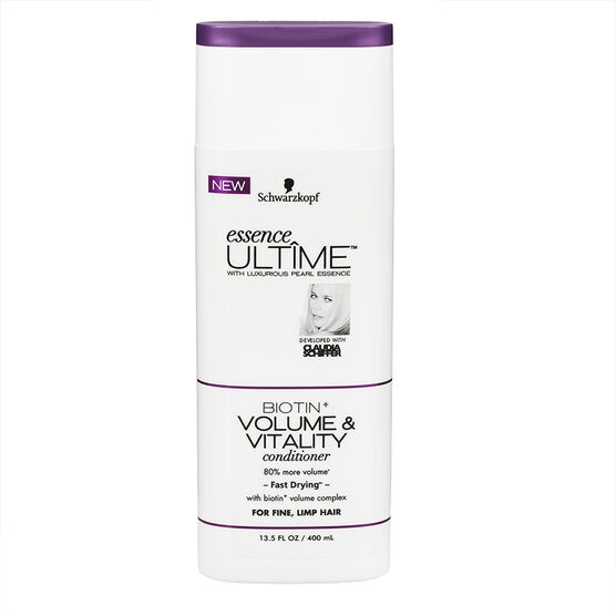 Schwarzkopf Essence Ultime Conditioner - Biotin+ Volume - 400ml