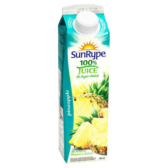SunRype Fruit Juice - Pineapple - 900ml