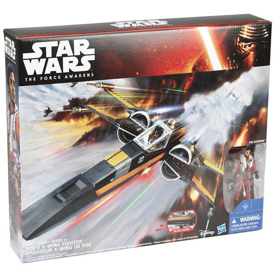 Star Wars E7 Poe's X-Wing Fighter - B3953