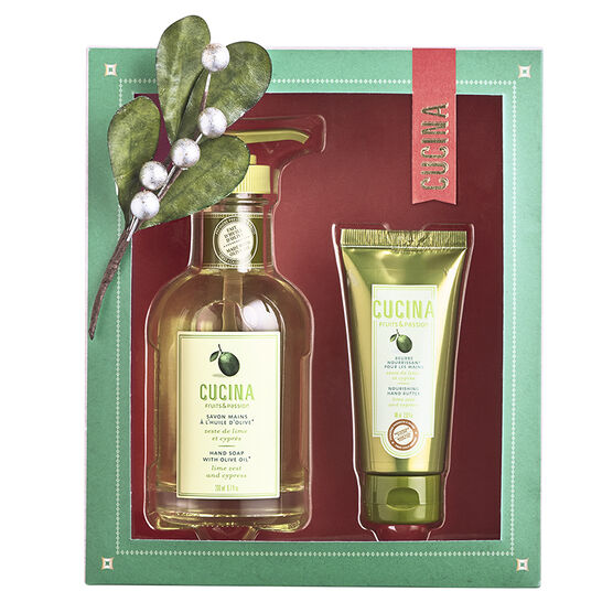 Fruits & Passion Cucina Hand Duo - Lime Zest and Cypress - 2 piece