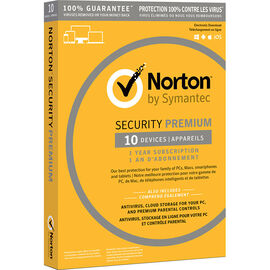 Norton Security Premium 3.0 - 10 Devices