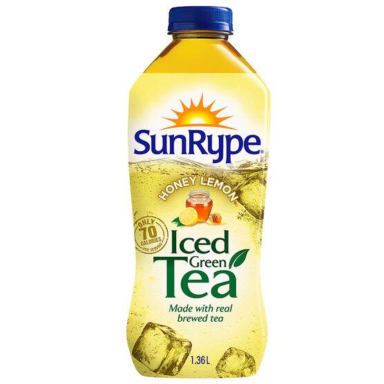 Sun-Rype Iced Green Tea - Honey Lemon - 1.36L