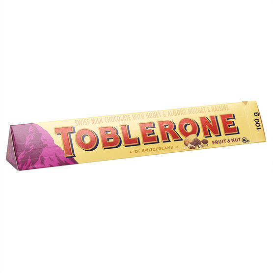 Toblerone Fruit & Nut Chocolate - 100g