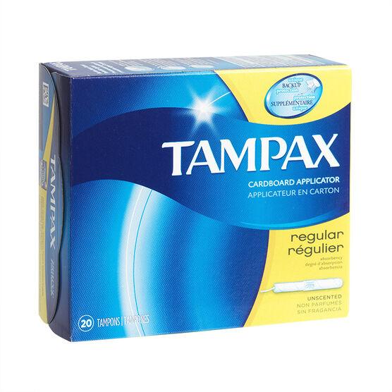 Tampax Tampons Regular - 20's